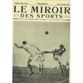 Le miroir des sports n 19 football coupe de france for Miroir des sports