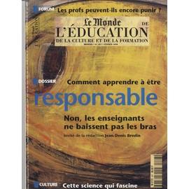 comment apprendre a etre responsable