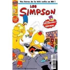 Les simpson n num ro 1 le tout premier num ro de la bd comic des simpson - Les simpson tout nu ...