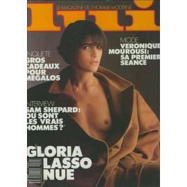 Lui N� 13 : Gloria Lasso Nue