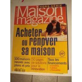 Maison individuelle magazine hors s rie n l9455 9804 for Acheter sa maison