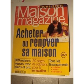 Maison individuelle magazine hors s rie n l9455 9804 for Acheter sa premiere maison