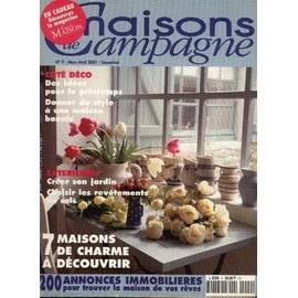 Maisons de campagne n 9 7 maisons de charme d couvrir for Jardin et maison magazine