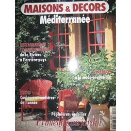 Maisons Et Decors Mediterranee N 151 Tissus Pepinieres Plafonds