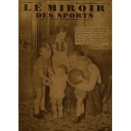 Miroir des sports le n 1043 du 27 12 1938 for Miroir des sports