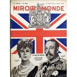 Miroir Du Monde N� 269 Du 27/04/1935