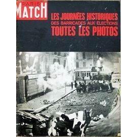 Paris Match N� 998 Du 22/06/1968