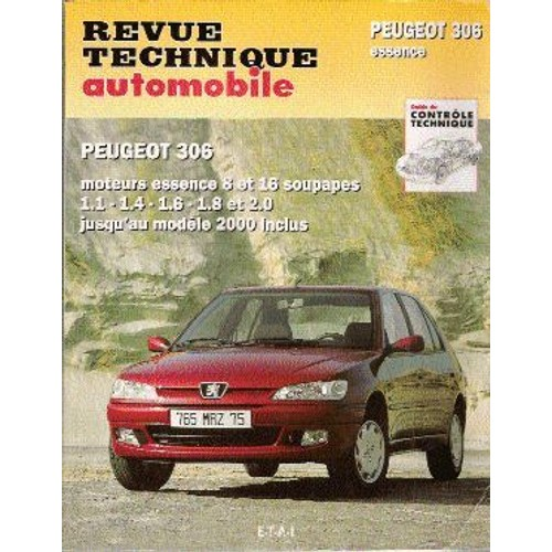peugeot 306 de revue technique automobile format broch. Black Bedroom Furniture Sets. Home Design Ideas