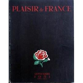 Plaisir De France N° 163 Du 01/09/1951