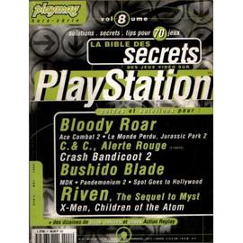 Playstation, La Bible Des Secrets Hors-Série N° Volume 8 : Playstation: La Bible Des Secrets