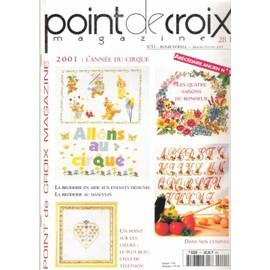 Point De Croix Magazine N° 11, Abecedaire Ancien - Priceminister - Rakuten