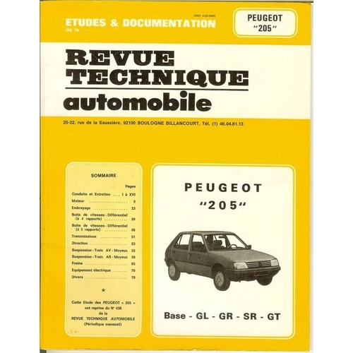 revue technique automobile guide d 39 entretien de votre. Black Bedroom Furniture Sets. Home Design Ideas