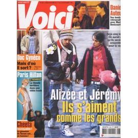 Revue - Voici / 17-11-2003 N° 836 : Alizée / Jérémy Chatelain (2p ...