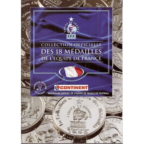 collection officielle medailles