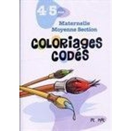 Coloriages Cod�s. Maternelle, Moyenne Section, 4/5 Ans