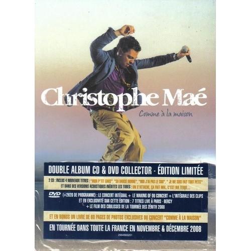Comme a la maison coffret collector cd dvd edition limitee de ma christophe achat et - Regarder 7 a la maison gratuitement ...