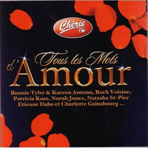 tous les mots d 39 amour compilation chanson francaise cd album. Black Bedroom Furniture Sets. Home Design Ideas