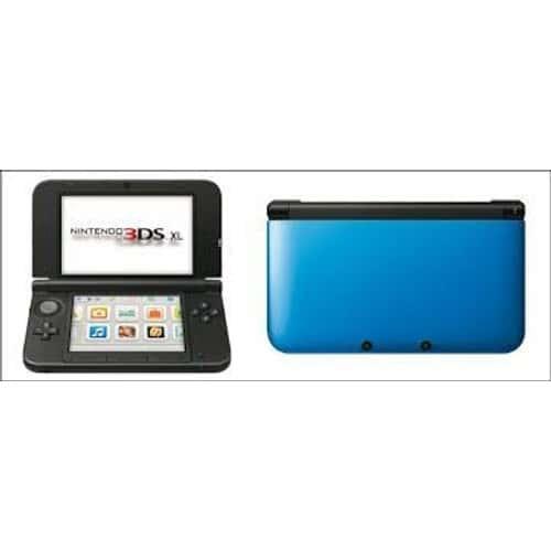 Console 3ds xl bleue et noire pas cher achat vente sur priceminister rakuten - Console nintendo 3ds xl pas cher ...