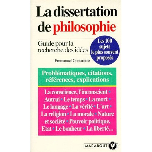 sujet dissertation philosophie desir