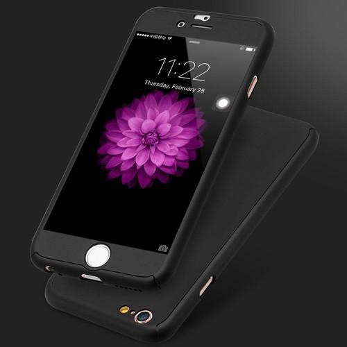coque iphone 6 integrale silicone noir