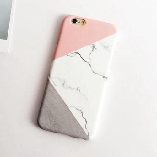 coque iphone 6 marbre bleu