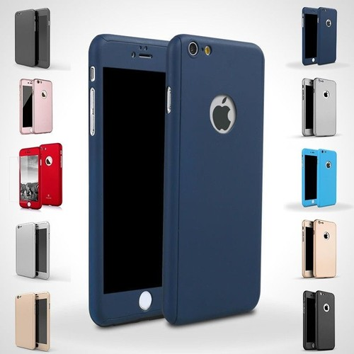 coque iphone 7 360 bleu