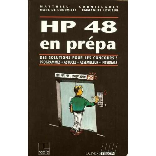 hp 48 en prepa des solutions pour les concours programmes astuces assembleur internals