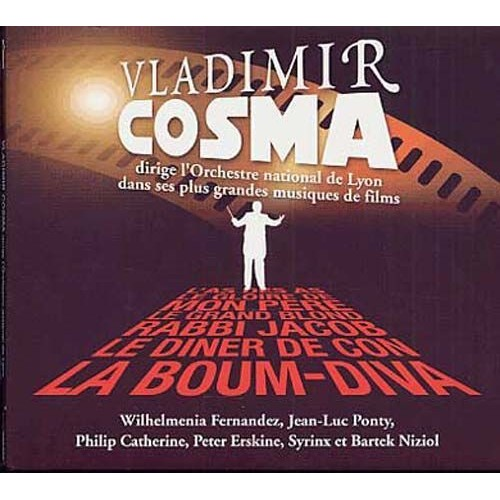 vladimir cosma avec l 39 orchestre national de lyon cd album. Black Bedroom Furniture Sets. Home Design Ideas