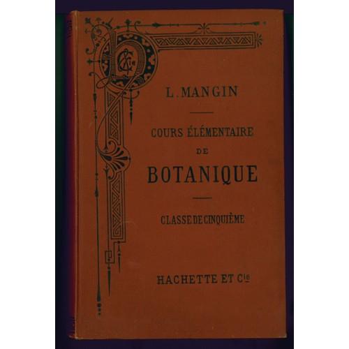 botanique et geologie elementaires 5e b