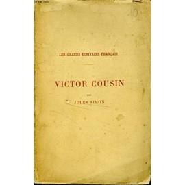 Cousin (Victor) de jules simon