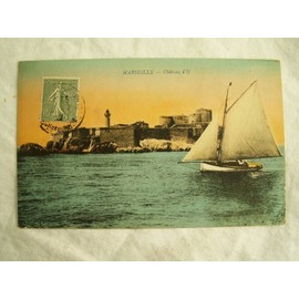 Cpa Carte Postale Ancienne 13 Bouches Du Rhone Marseille Chateau D If