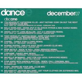 Dance Remixes - Cd Pool December 2007 - Cd 1 : Kelly Rowland/Chanel/Angel City/Robbie Rivera / Etc.