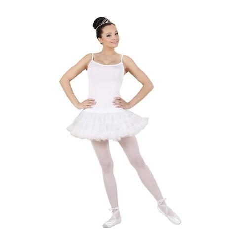 fd8698b07572e Déguisement Danseuse Couleur Blanc