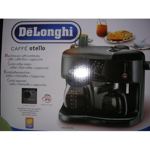 delonghi bco85 machine caf combin e caf caf. Black Bedroom Furniture Sets. Home Design Ideas