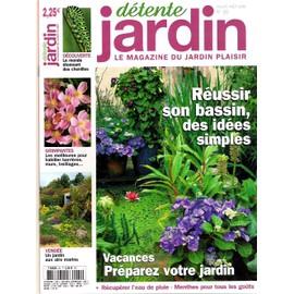 detente jardin n 60 reussir son bassindes idees simples vendee un jardin aux airs - Detente Jardin