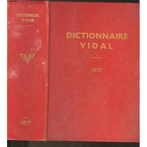 Dictionnaire Vidal de Collectif Format Relié