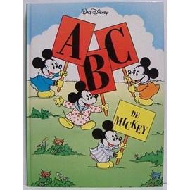 A B C De Mickey - Walt Disney de walt disney