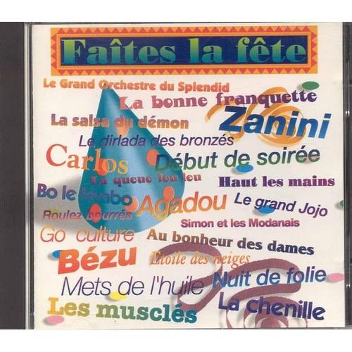 Various - Faites La Fête Avec Bide & Musique