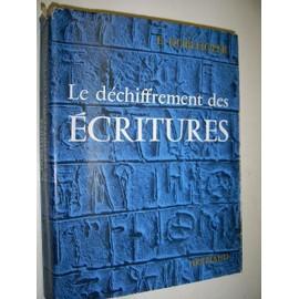Le Dechiffrement Des Ecritures. Ouvrage Illustre De 41 Heliogravures de ernst doblhofer
