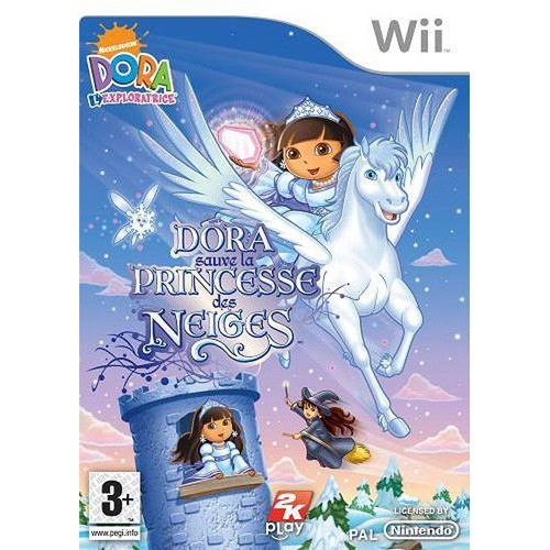 Dora sauve la princesse des neiges pas cher achat vente - La princesse de neige ...