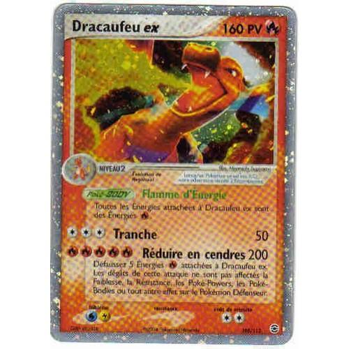 Dracaufeu ex rf vf 105 112 holographique neuf et d - Pokemon dracaufeu ex ...