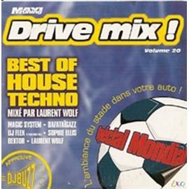Drive Mix ! Volume 20 - 100% Dj Buzz Mix� Par Laurent Wolf : Suppl�ment � La Revue