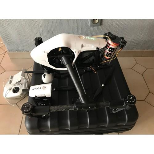Commander federation drone et avis drone parrot bebop 2 fpv