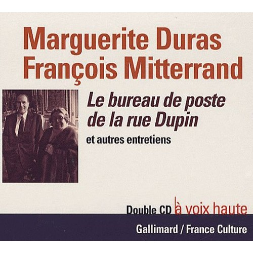 le bureau de poste de la rue dupin marguerite duras cd album. Black Bedroom Furniture Sets. Home Design Ideas