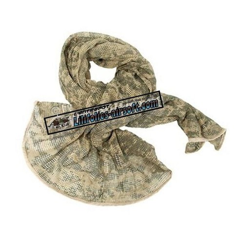 9cb14294abb Cheche Echarpe Netzschal Filet Camouflage At Digital Miltec S12625070  Airsoft