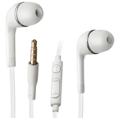 ecouteurs casque blanc original samsung control volume ecouteur oreillette d 39 origine pour galaxy s5. Black Bedroom Furniture Sets. Home Design Ideas