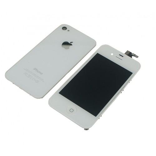ecran iphone 4s blanc pas cher ou d 39 occasion sur priceminister rakuten. Black Bedroom Furniture Sets. Home Design Ideas