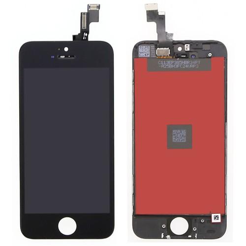 ecran iphone 5s noir pas cher achat vente de ecran priceminister rakuten. Black Bedroom Furniture Sets. Home Design Ideas