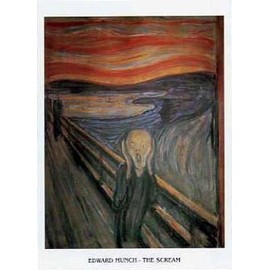 Edvard Munch Poster Reproduction - Le Cri Xi (30x24 Cm)