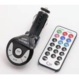 Emetteur-Transmetteur Fm Pour Lecteur Mp3 Et Cl� Usb - T�te Ajustable